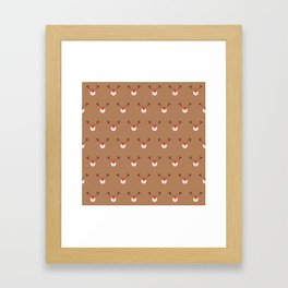 Rudolph Clones (Patterns Please) Framed Art Print
