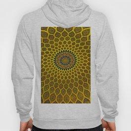 Yellow Arabic Mosaic Hoody