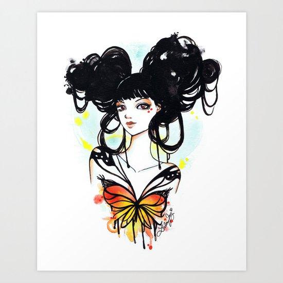 Soleil Art Print