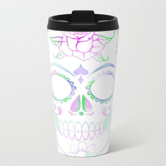 Love Skull (Pastel) Metal Travel Mug