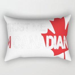 TRUST-ME,-I'M-CANADIAN Rectangular Pillow