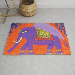 Winged Elephant Rug