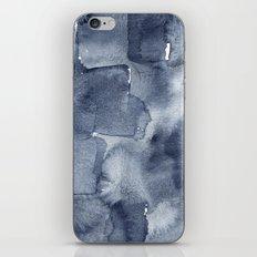 Indigo Watercolor iPhone & iPod Skin