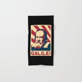 Galileo Galilei Retro Propaganda Hand & Bath Towel