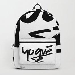 """""""Yoquésé"""" [Copyright] Mar Cantón, 2017 Backpack"""