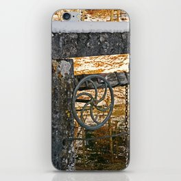 The wheel at the lock iPhone Skin
