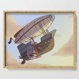 Steampunk Airship Serving Tray