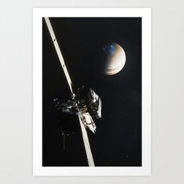 Juno - Jupiter Approach Art Print