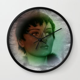a picture on a wall Wall Clock
