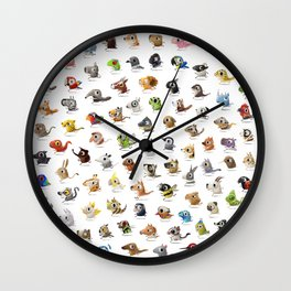 Marathon Animals Wall Clock