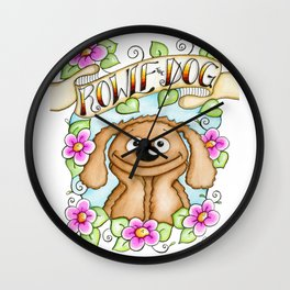 The Muppets Series ~ Rowlf the Dog Wall Clock