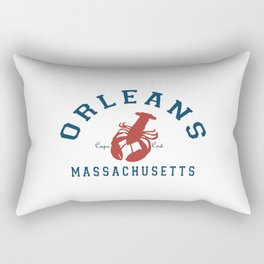 Orleans - Cape Cod. Rectangular Pillow