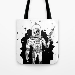 Intergalactic Bone Man Tote Bag