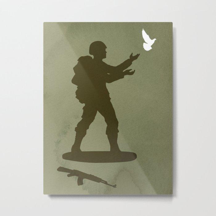 Conflict Metal Print