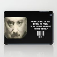 1984 iPad Cases featuring THE 1984 BIG BROTHER by Philipe Kling
