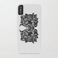 gemini iPhone & iPod Cases featuring Gemini by Mario Sayavedra