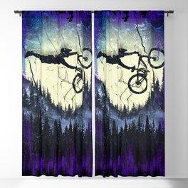 Vintage Forest Rider Blackout Curtain