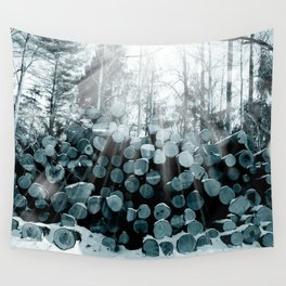 wood  Wall Tapestry