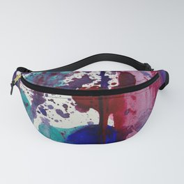 Purples lined Fanny Pack