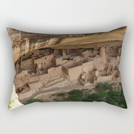 Cliff Palace Mesa Verde Rectangular Pillow