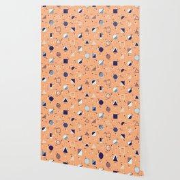 Geometry Funk Salmon Wallpaper