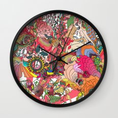 Of the Hare Meadow Wall Clock