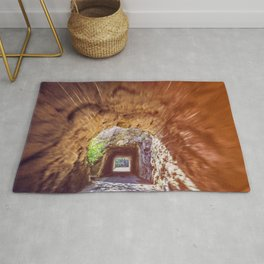 Double Mountain Tunnel Rug