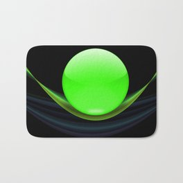 Green Ball Bath Mat