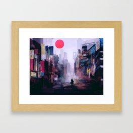 Strange Mornings Framed Art Print