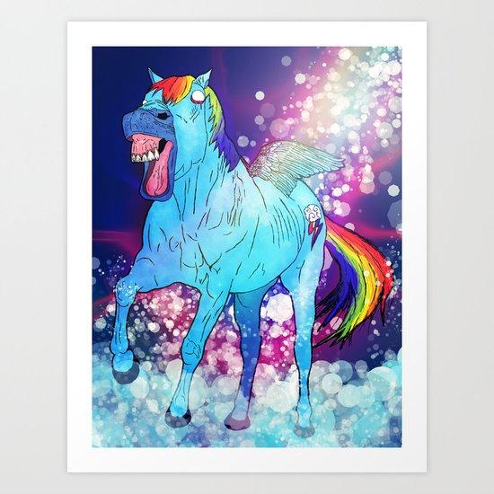 Rainbow Dash Art Print