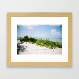 island vibe Framed Art Print