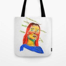 Graphic portrait 1 Tote Bag
