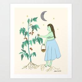 tomato heaven Art Print