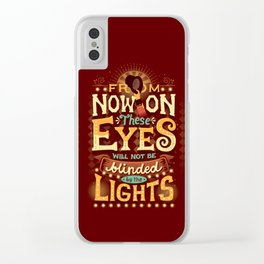 From Now On Clear iPhone Case