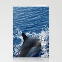 dolphins Stationery Cards featuring Dolphins by Lab&co
