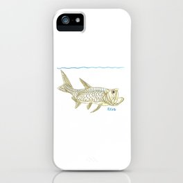 Key West Tarpon II iPhone Case