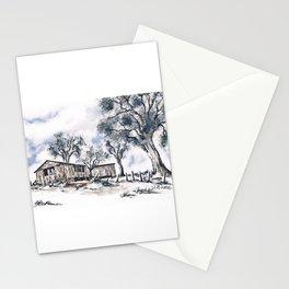 Rustic Bush Shack Stationery Cards