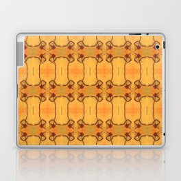 Ebola Tapestry-1 by Alhan Irwin Laptop & iPad Skin
