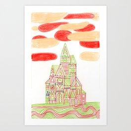 Crystal City 02-10-10b Art Print