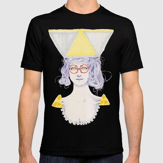 Yellow Triangles T-shirt