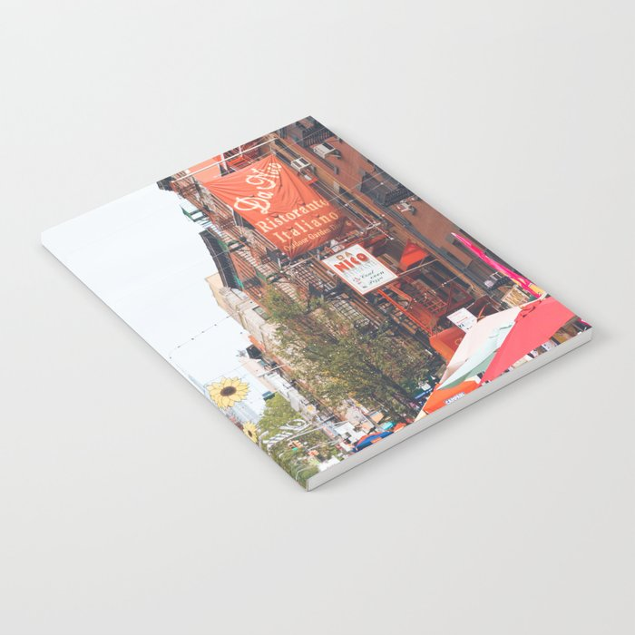 Mulberry Street Little Italy Notebook