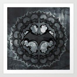 Bat Mandala Art Print