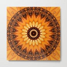 Mandala egypt sun no. 2 Metal Print