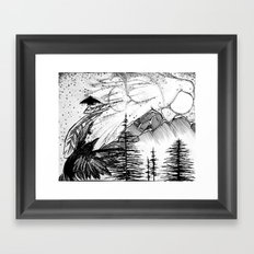Murder on the Mountain Framed Art Print