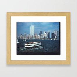 Trading Waves Framed Art Print