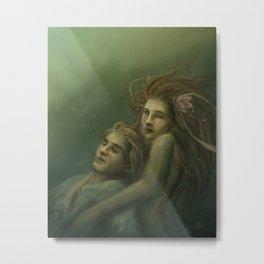 Love Rescue Me Metal Print