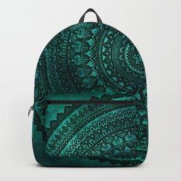 Sea Green Mandala Backpack