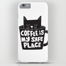 coffee is my safe place iPhone 6 Plus Slim Case