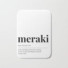 Meraki Bath Mat