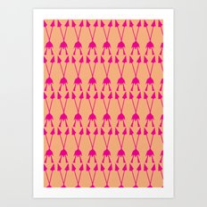 Speared Art Print